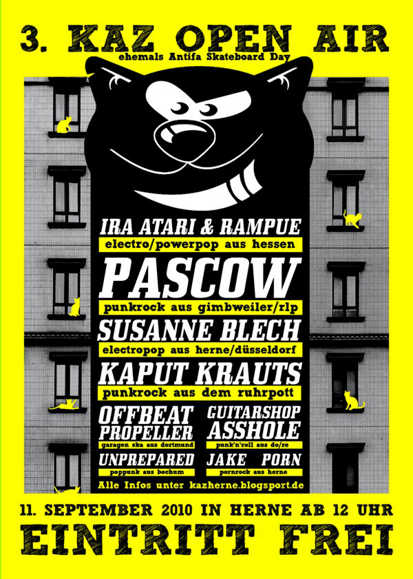 KAZ Open Air Flyer 2010
