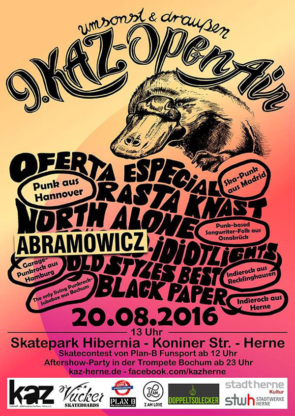 KAZ Open Air Flyer 2016